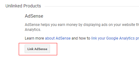 Link Adsense