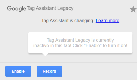 Tag Assistant