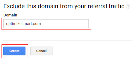 domain and create