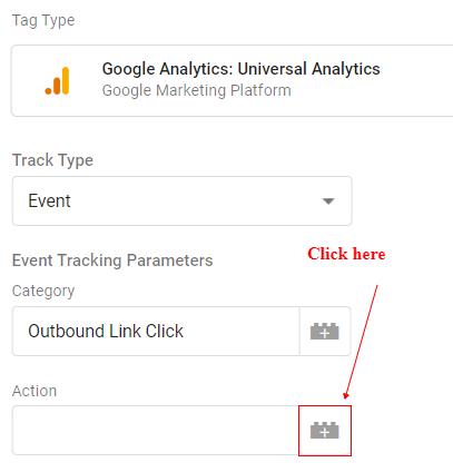 event action plus button click
