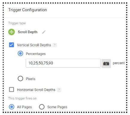 gtm tutorial Scroll Depth Tracking gtm