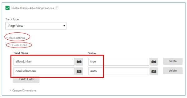gtm tutorial cross domain tracking gtm