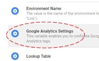 gtm tutorial google analytics settings variable
