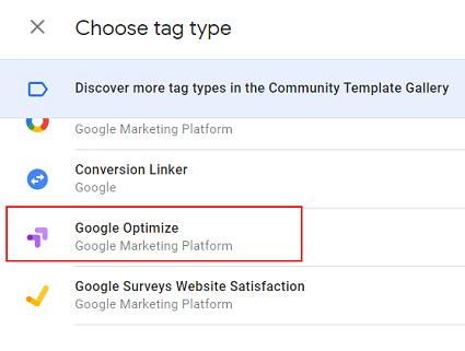 gtm tutorial google optimize google tag manager