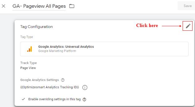 pageview tag pencil icon