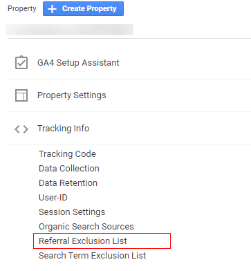 refrerral exclusion list