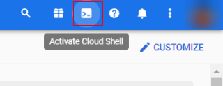 server side tagging cloud shell