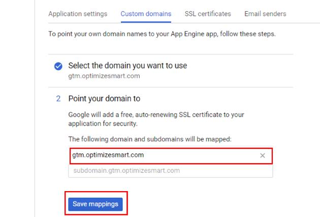 server side tagging custom domain 14