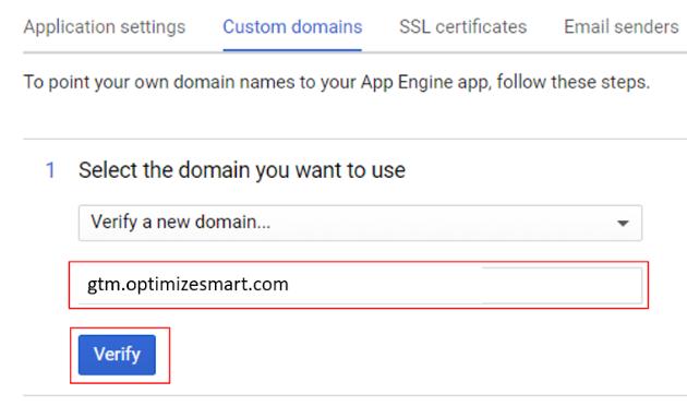 server side tagging custom domain 4