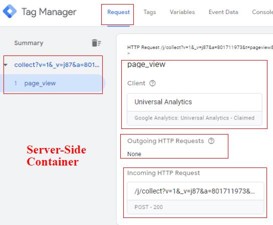server side tagging server side gtm preview