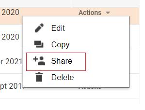 share segments