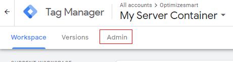 Admin GTM 1