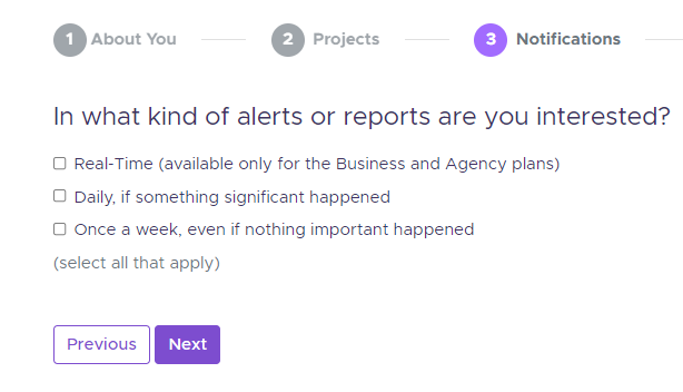 Alert notification 1