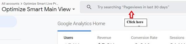 Analytics Intelligence google analytics