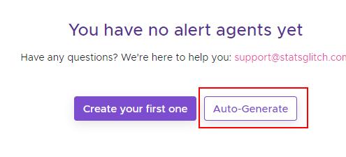 Auto generate events 1