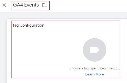 GA4 Events tag