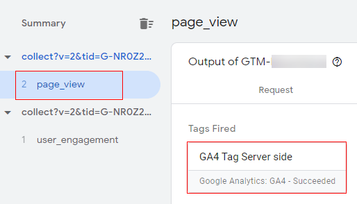 GA4 Page View Tag Fired