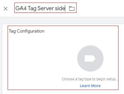 GA4 server tag
