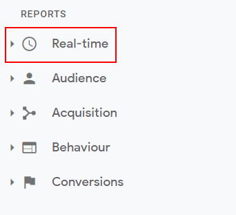 Realtime reports