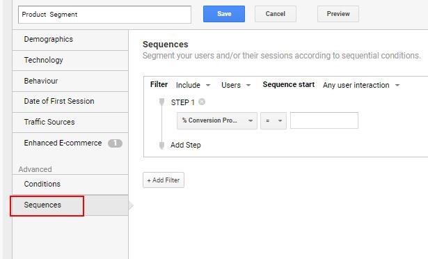 advanced sequences segment