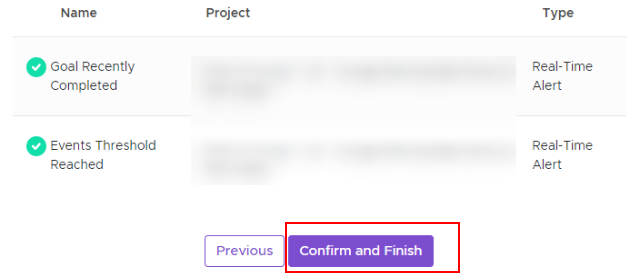 confirm and finish alert 1