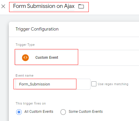custom event form submission 1