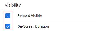 element visibility trigger