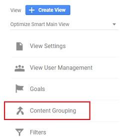 ga training resources content grouping google analytics