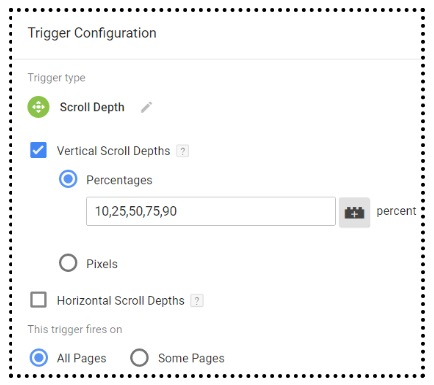 ga training resources scroll depth tracking google tag manager