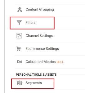 ga training resources segment filters google analytics