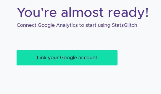 link to Google analytics 1