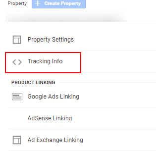 tracking info