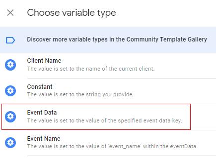 Choose variable type