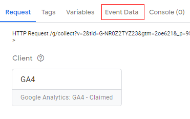 Events data 1