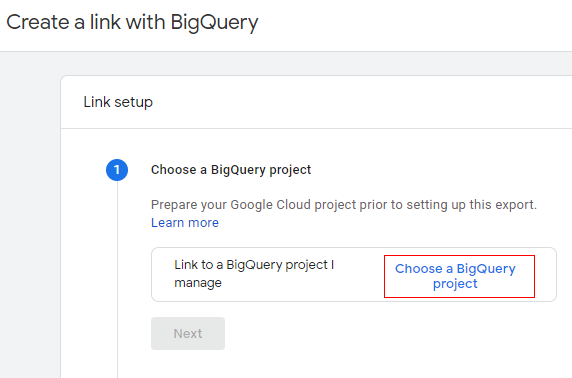 choose a project