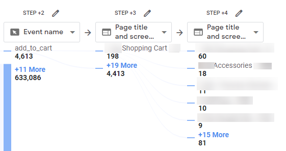 path analysis report step 4 overvview