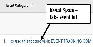 remove referral spam event spam