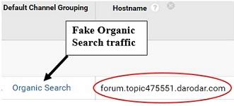 remove referral spam fake organic traffic 1