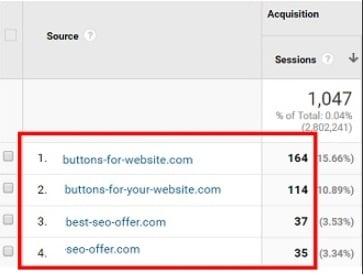 remove referral spam sapm referrers