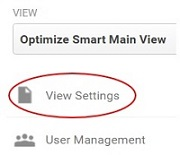 remove referral spam view settings 2
