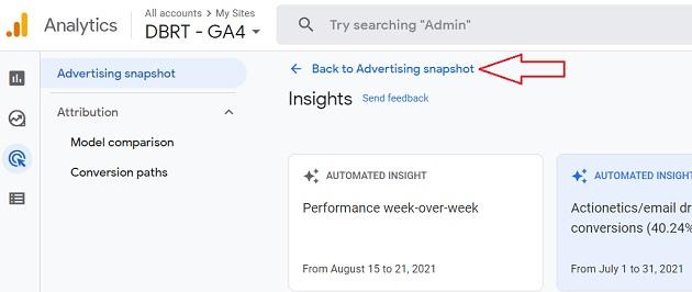 Back to Advertising snapshot