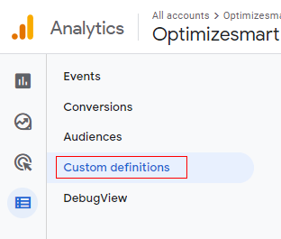 Custom defination link 1