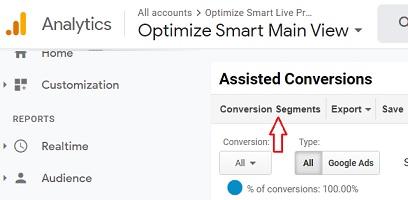 conversion segment