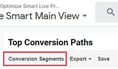 conversion segments 1