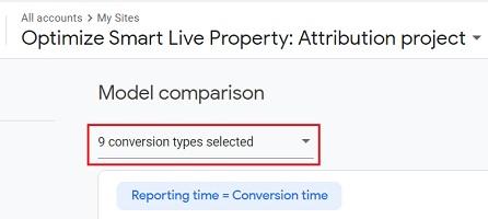 model comparison attribution project