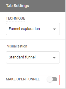 open funnel disabled