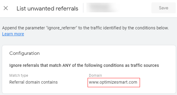own domain