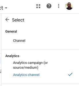 Analytics channel2