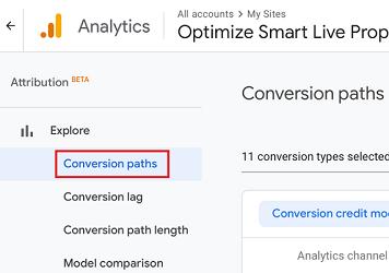 Conversions paths 1