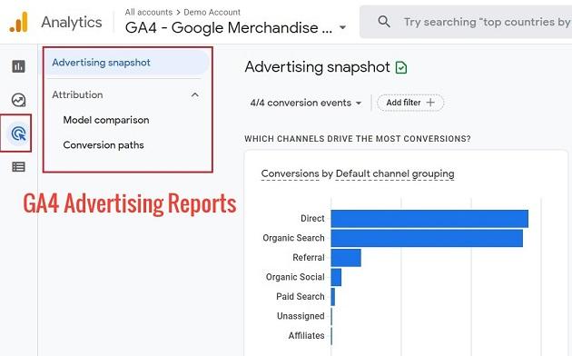 GA4 Advertising Reports 1
